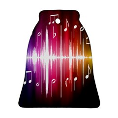 Music Data Science Line Bell Ornament (Two Sides)