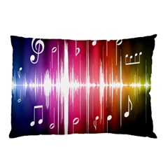 Music Data Science Line Pillow Case (Two Sides)