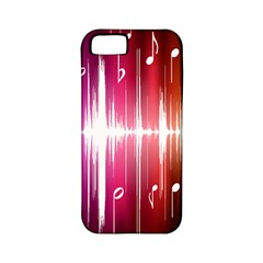 Music Data Science Line Apple iPhone 5 Classic Hardshell Case (PC+Silicone)