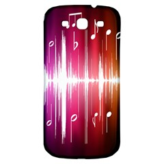 Music Data Science Line Samsung Galaxy S3 S III Classic Hardshell Back Case
