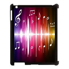 Music Data Science Line Apple iPad 3/4 Case (Black)