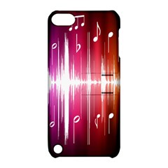 Music Data Science Line Apple iPod Touch 5 Hardshell Case with Stand