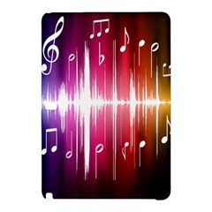 Music Data Science Line Samsung Galaxy Tab Pro 10 1 Hardshell Case