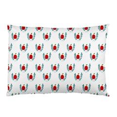 Sage Apple Wrap Smile Face Fruit Pillow Case (Two Sides)