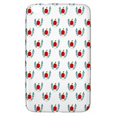 Sage Apple Wrap Smile Face Fruit Samsung Galaxy Tab 3 (8 ) T3100 Hardshell Case
