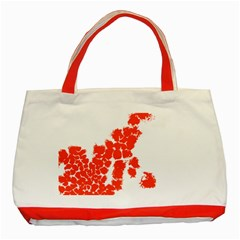Red Spot Paint Classic Tote Bag (Red)