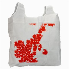 Red Spot Paint Recycle Bag (One Side)