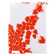 Red Spot Paint Apple iPad 3/4 Hardshell Case