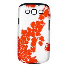 Red Spot Paint Samsung Galaxy S III Classic Hardshell Case (PC+Silicone)