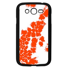 Red Spot Paint Samsung Galaxy Grand DUOS I9082 Case (Black)