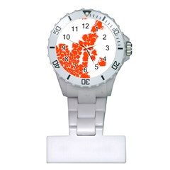 Red Spot Paint Plastic Nurses Watch