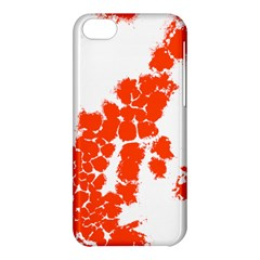 Red Spot Paint Apple iPhone 5C Hardshell Case
