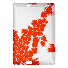 Red Spot Paint Amazon Kindle Fire HD (2013) Hardshell Case