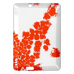 Red Spot Paint Kindle Fire HDX Hardshell Case