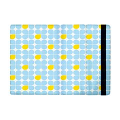 Retro Stig Lindberg Vintage Posters Yellow Blue Apple iPad Mini Flip Case