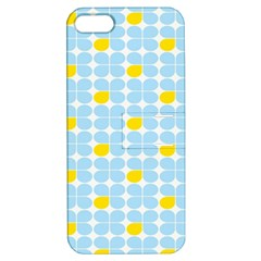 Retro Stig Lindberg Vintage Posters Yellow Blue Apple iPhone 5 Hardshell Case with Stand