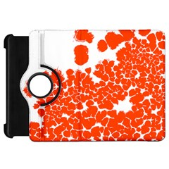 Red Spot Paint White Polka Kindle Fire HD 7
