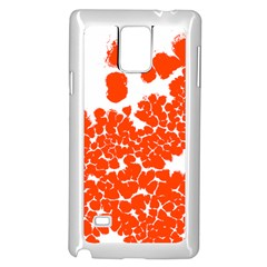 Red Spot Paint White Polka Samsung Galaxy Note 4 Case (White)
