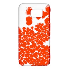 Red Spot Paint White Polka Galaxy S6
