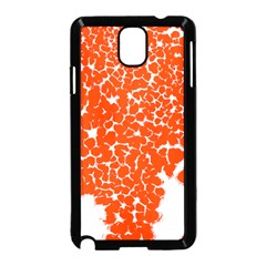 Red Spot Paint White Samsung Galaxy Note 3 Neo Hardshell Case (Black)