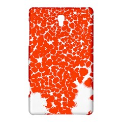 Red Spot Paint White Samsung Galaxy Tab S (8.4 ) Hardshell Case