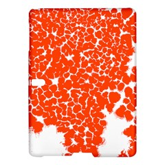 Red Spot Paint White Samsung Galaxy Tab S (10.5 ) Hardshell Case