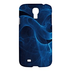 Smoke White Blue Samsung Galaxy S4 I9500/I9505 Hardshell Case