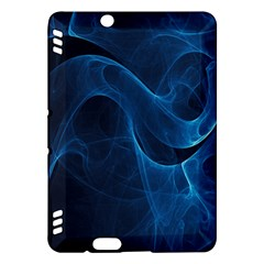 Smoke White Blue Kindle Fire HDX Hardshell Case