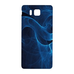Smoke White Blue Samsung Galaxy Alpha Hardshell Back Case