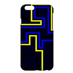 Tron Light Walls Arcade Style Line Yellow Blue Apple iPhone 6 Plus/6S Plus Hardshell Case