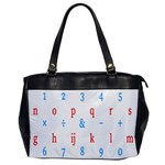 Source Serif Number Office Handbags Front