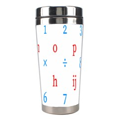 Source Serif Number Stainless Steel Travel Tumblers