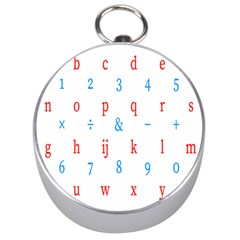 Source Serif Number Silver Compasses