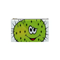 Thorn Face Mask Animals Monster Green Polka Cosmetic Bag (Small)