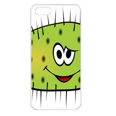 Thorn Face Mask Animals Monster Green Polka Apple iPhone 5 Seamless Case (White)