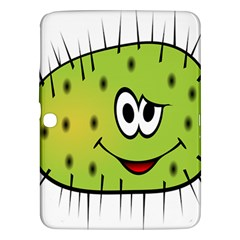 Thorn Face Mask Animals Monster Green Polka Samsung Galaxy Tab 3 (10.1 ) P5200 Hardshell Case