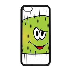 Thorn Face Mask Animals Monster Green Polka Apple iPhone 5C Seamless Case (Black)