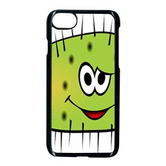 Thorn Face Mask Animals Monster Green Polka Apple Iphone 7 Seamless Case (black)