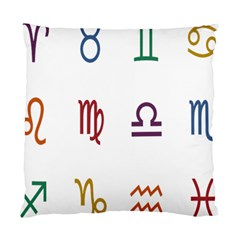 Twelve Signs Zodiac Color Star Standard Cushion Case (One Side)