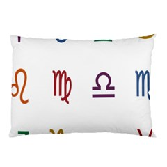 Twelve Signs Zodiac Color Star Pillow Case (Two Sides)