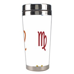 Twelve Signs Zodiac Color Star Stainless Steel Travel Tumblers