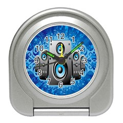 Sound System Music Disco Party Travel Alarm Clocks