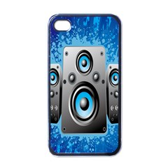 Sound System Music Disco Party Apple Iphone 4 Case (black)