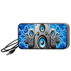 Sound System Music Disco Party Portable Speaker (Black)