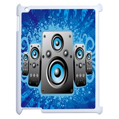 Sound System Music Disco Party Apple iPad 2 Case (White)