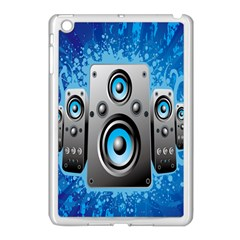 Sound System Music Disco Party Apple iPad Mini Case (White)