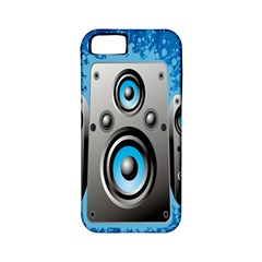 Sound System Music Disco Party Apple iPhone 5 Classic Hardshell Case (PC+Silicone)
