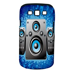 Sound System Music Disco Party Samsung Galaxy S III Classic Hardshell Case (PC+Silicone)