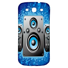 Sound System Music Disco Party Samsung Galaxy S3 S III Classic Hardshell Back Case