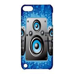 Sound System Music Disco Party Apple iPod Touch 5 Hardshell Case with Stand